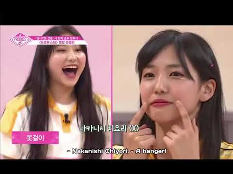 [produce 48] Speak With Your Body! Ep. 11 (eng)