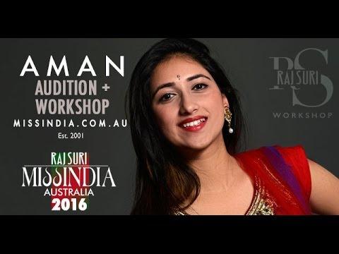 Miss India Australia 2016 Finalist - Raj Suri Workshop