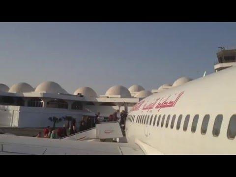 Tunis Air - Djerba nach Düsseldorf in einer Boeing 737-600