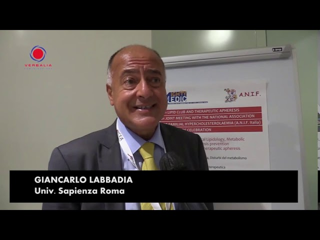 INTERVISTA A GIANCARLO LABBADIA. 15th LIPID CLUB - IL CONGRESSO.  20° ANNIVERSARIO ANIF