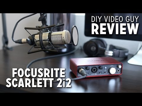 Focusrite Scarlett 2i2 Review + Set-up Walkthrough