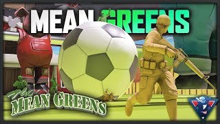 ABSOLUTE MAYHEM! | The Mean Greens - Plastic Warfare Gameplay