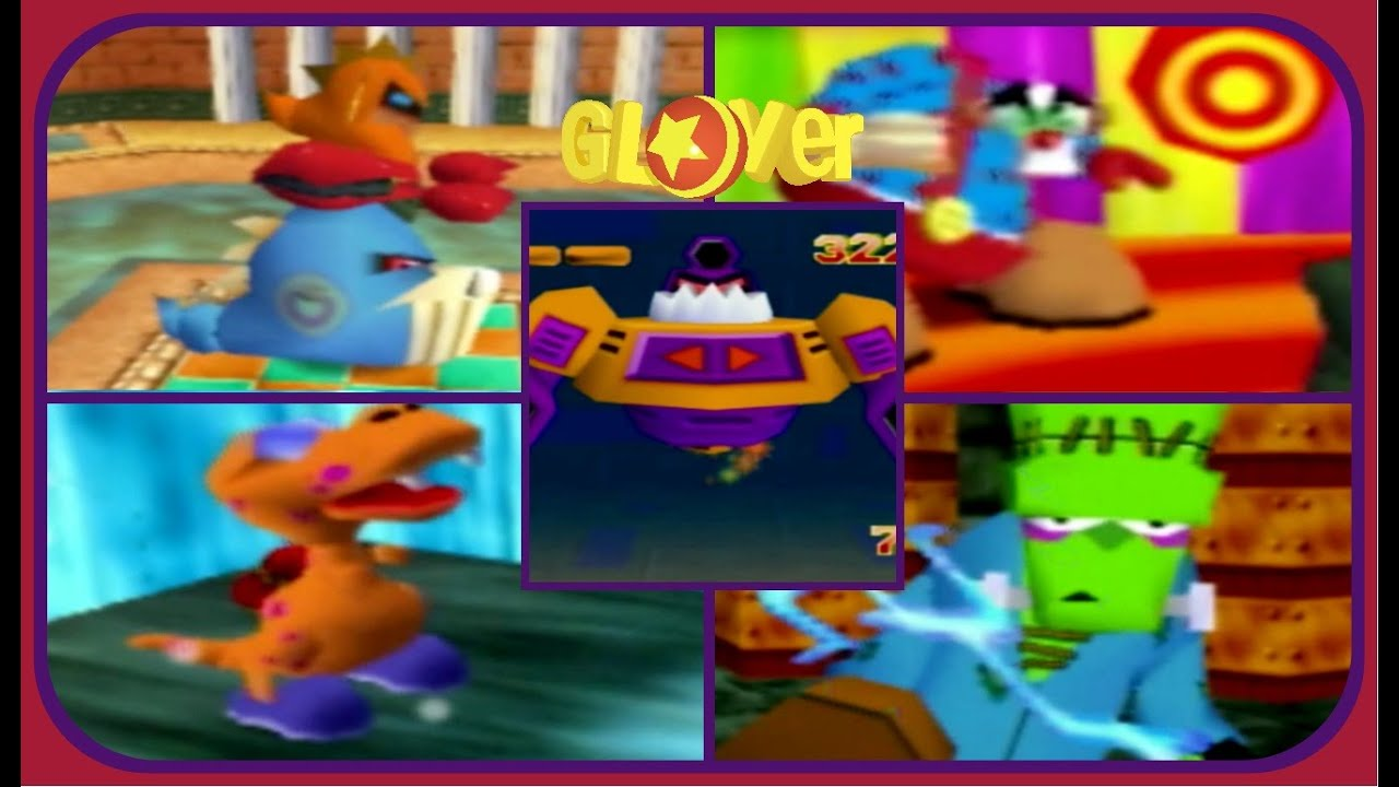 Download Glover - All Boss Encounters (NO DAMAGE)