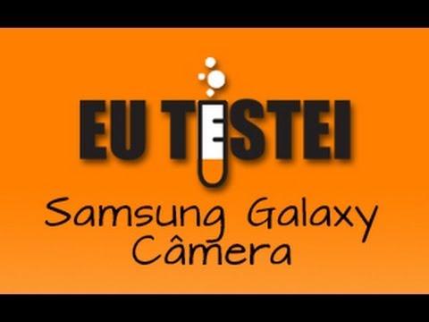 Câmera Samsung Galaxy Camera EK-GC100 - Resenha Brasil