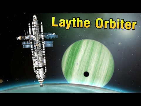 KSP: Massive Orbital Colony to LAYTHE