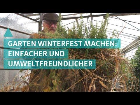 Garten winterfest machen – einfacher und umweltfreundlicher | BAUEN & WOHNEN