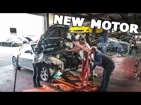 350Z GETS A FRESH NEW MOTOR!