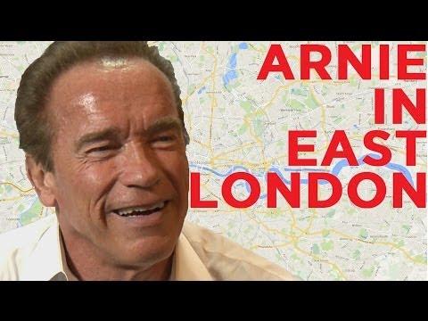 Arnold Schwarzenegger was an EastEnder