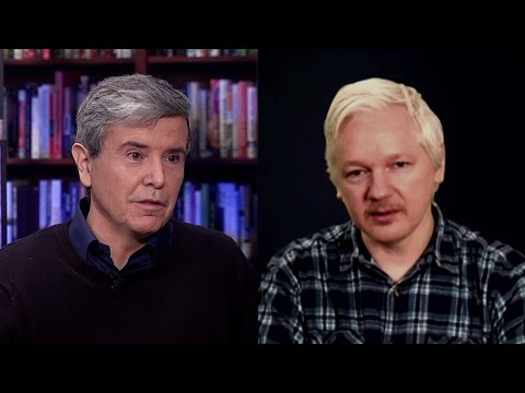 Julian Assange vs. Allan Nairn: Is Donald Trump a Unique Danger to America?