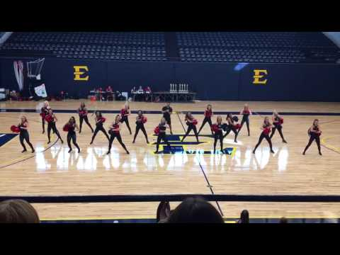 Austin Peay State Dance Team Game Day 2017