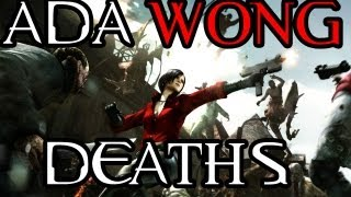 Resident Evil 6: All Ada Wong Death Scenes
