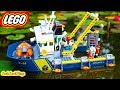 Pretend Play with Lego Ships: DEEP SEA CAPER, Cops & Robbers Skit