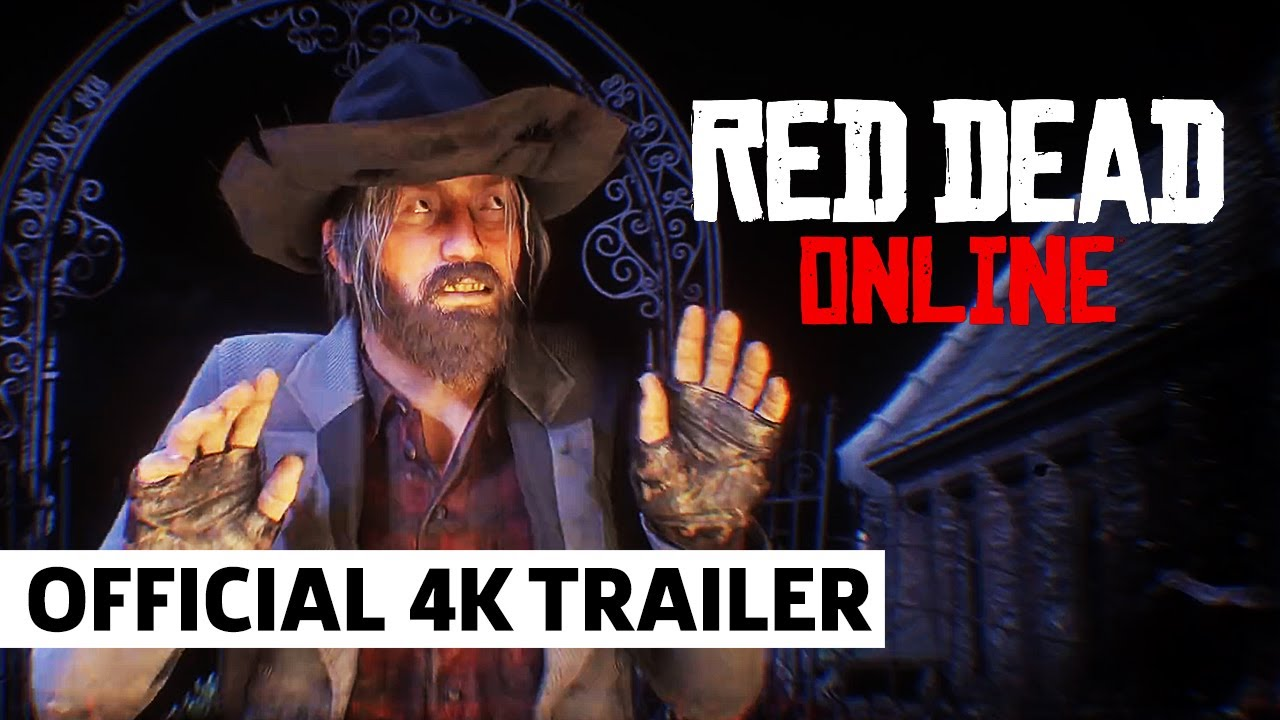 Red Dead Online - Halloween Pass Trailer - GameSpot