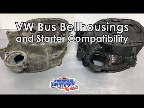 VW Bus Bell Housings and Starter Compatibility - Aircooled VW Tech Tips
