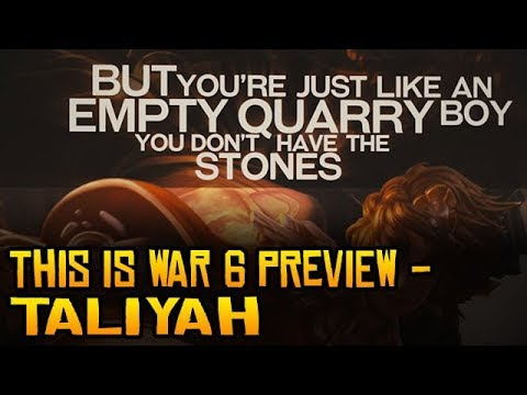 This Is War 6 Sample - Taliyah(Rybi Jenkins)
