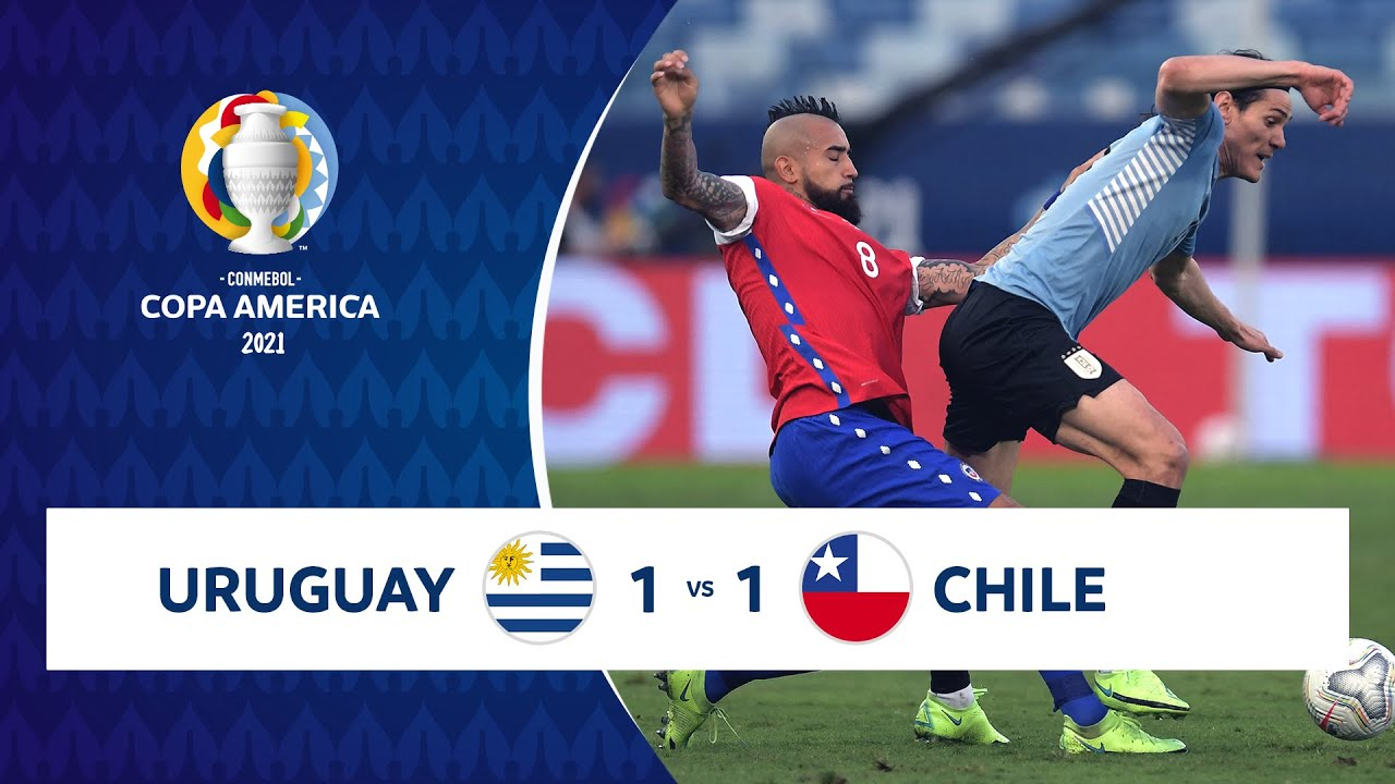 HIGHLIGHTS URUGUAY 1 - 1 CHILE | COPA AMÉRICA 2021 | 21-06-21 - YouTube