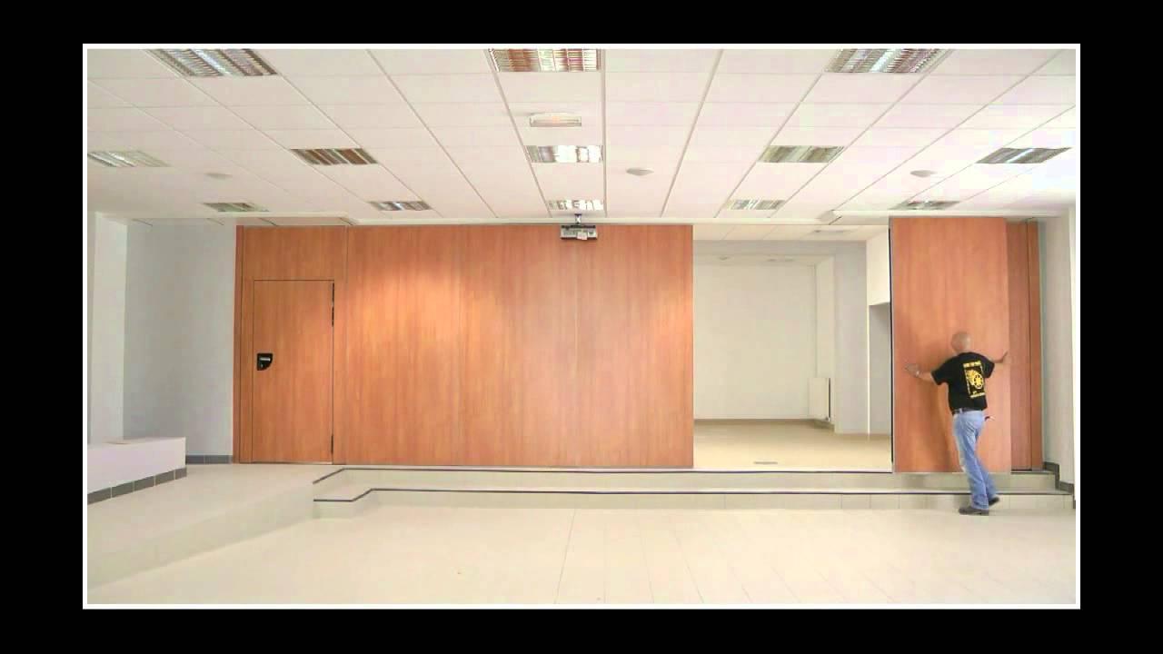 algaflex murs mobiles stylist youtube. Black Bedroom Furniture Sets. Home Design Ideas