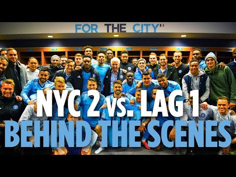 David Villa Makes 100th Appearance | BEHIND THE SCENES | NYCFC 2 vs. LA Galaxy 1 | 03.11.18