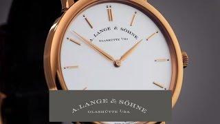 SAXONIA THIN – A. Lange & Söhne