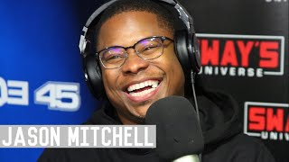 Jason Mitchell from The Chi, Straight Outta Compton and Mudbound Tears up With Emotion