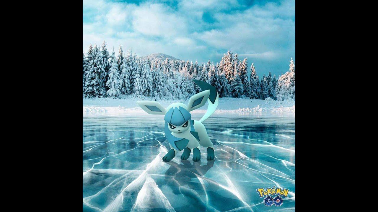 PokemonGo幸福l #如何使用冰寒誘餌模組#進化冰伊布 - YouTube