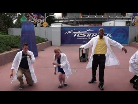 Test Track All Stars 'Born to be Wild' at Epcot, Walt Disney World