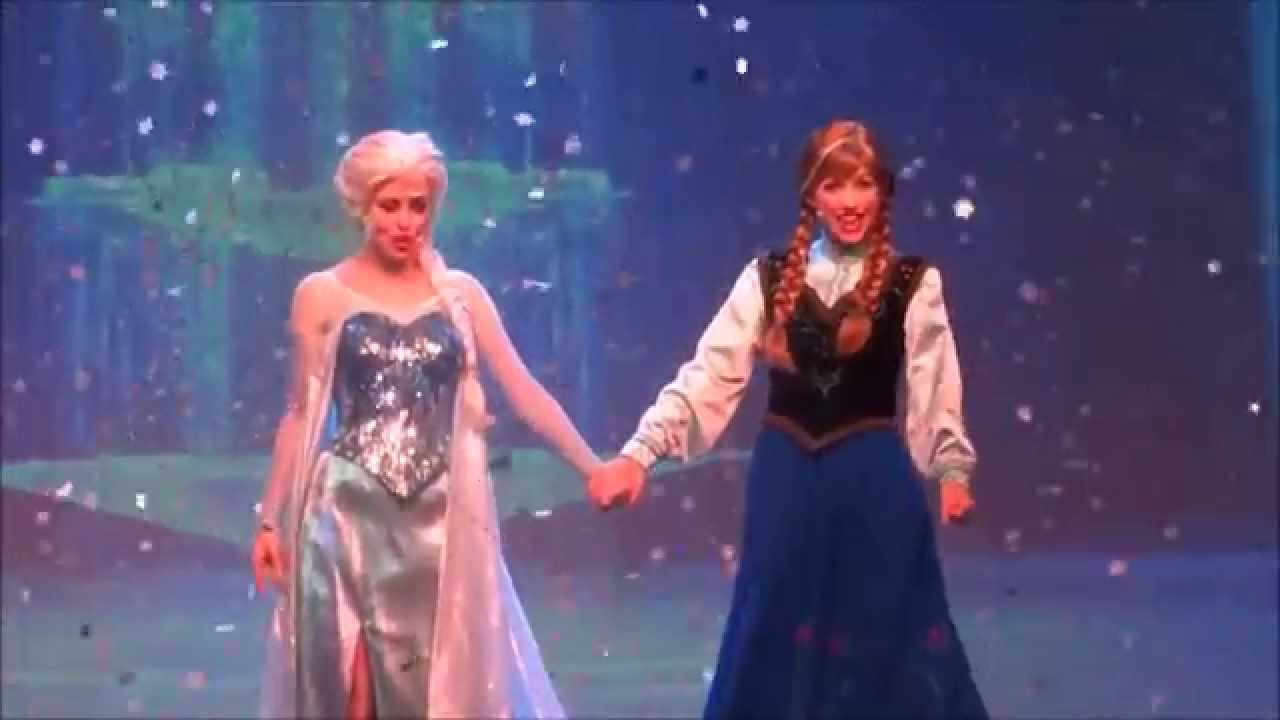 For The First Time In Forever A Frozen Sing Along