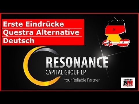 Resonance Capital Group   Deutsche Präsentation   Questra Alternative