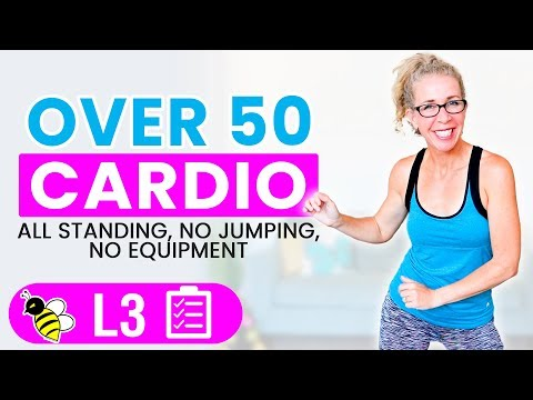 30 Minute WEIGHT LOSS Cardio Workout for Women Over 50