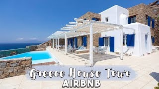 Mykonos Airbnb House Tour!