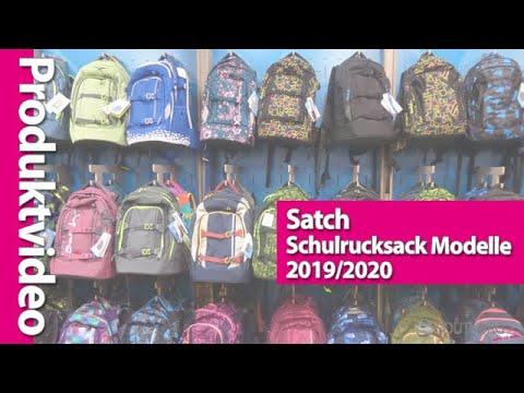 bf52b9044c4d7 Satch Schulrucksäcke Modelle 2017 18 im direkten Vergleich - YouTube