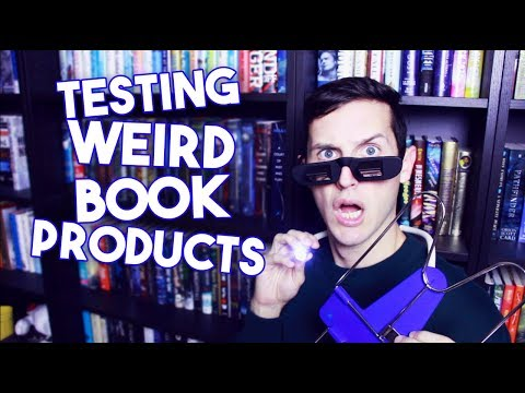 TESTING WEIRD BOOK PRODUCTS TAKE TWO