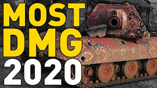 MOST DAMAGE in 2020 in World of Tanks!