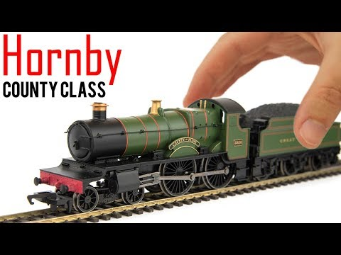 Hornby County Class 4-4-0 Unboxing & Review