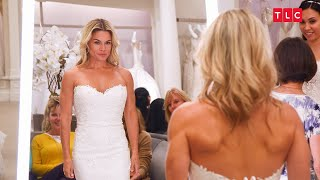 Randy Works To Find The Perfect Dresses For Iron Chef Cat Cora And Her Bride