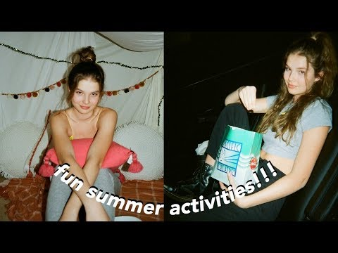 A Summer Week In My Life