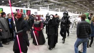 Scifi Mässan Malmö 2014 Star Wars-parad