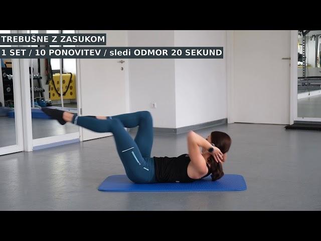 SMM05 - Bizi PILATES trening za celotno telo