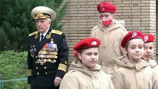 В Москве чествовали ветеранов Великой Отечественной войны Степана Тюшкевича и Света Турунова.