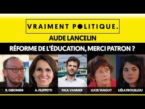 VP#1   REFORME EDUCATION, MERCI PATRON ?