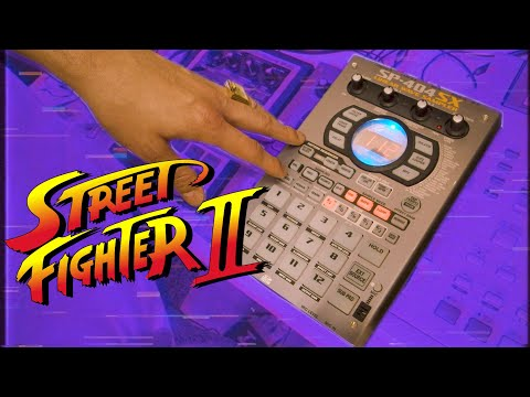 Beat Making - STREET FIGHTER II video game sample flip - LOFI Hip-Hop Boom Bap
