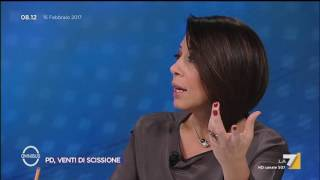 Omnibus - PD, venti di scissione (Puntata 15/02/2017)