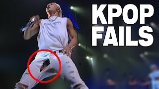 Repeat youtube video TOP 10 KPOP FAILS | RIPPED CLOTHES EDITION