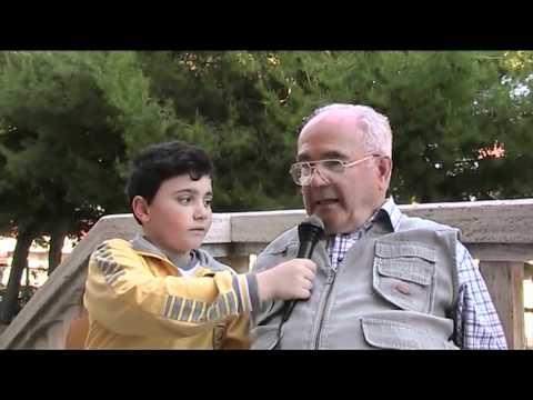 Mario Petrelli intervistato dagli studenti della s...