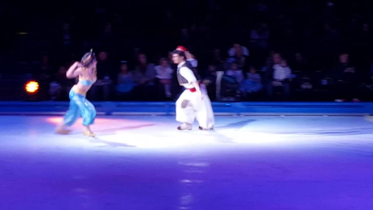 Disney On Ice Frozen Nyc Barclay Center 2015 Youtube