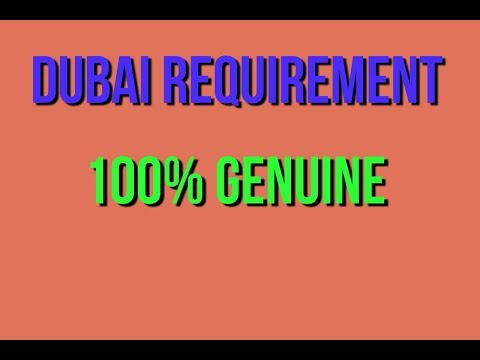 Job in hotel salary 1000 to 1500 dirams in dubai (U. A. E)