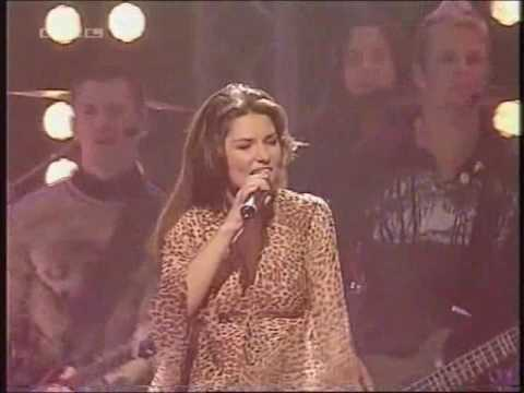 Shania Twain - Thank You Baby! (Comet Awards 2003)