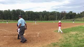 2018-09-22 Stars Baseball (Natale) 2nd Inning Batting vs NOVA Premier Kilbride