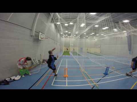 Hartley Country Cricket Club Preseason Nets Daniel Redwood Bowling