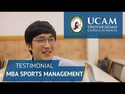 Master MBA Sports Management | UCAM University of Sports in Spain